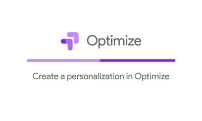 Create a personalization in Optimize