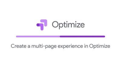 Create a multi page experience with Optimize