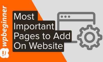 The 4 Most Important Pages Every Website Should Have (2020)