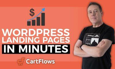 WordPress Landing Page with Elementor & CartFlows for FREE.