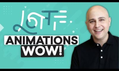 How To Add Motion Animations To Your Website Using Lottie & Elementor [WOW]
