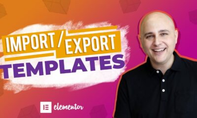 How To Elementor Import / Export Templates + What To Do When It Doesn't Work