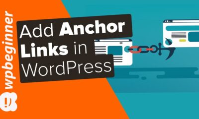 """How to """"Easily"""" Add Anchor Links in WordPress Step by Step"""