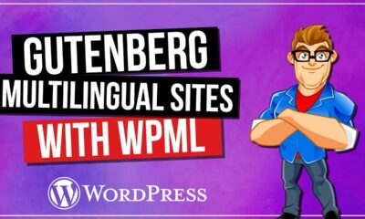 Multilingual WordPress Websites with Gutenberg & WPML