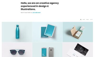 15+ Best WordPress Grid Themes of 2020 to build Awesome Portfolio Grid Websites