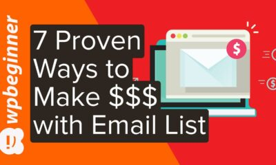 7 Proven Ways to Make Money with Your Email List (2020)