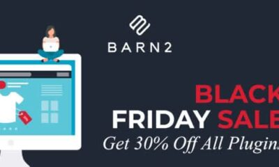 The Barn2 Black Friday Sale 2020 – 30% off all plugins and bundles