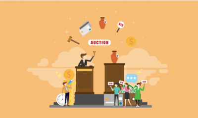What are the major benefits of Online Auctions?
