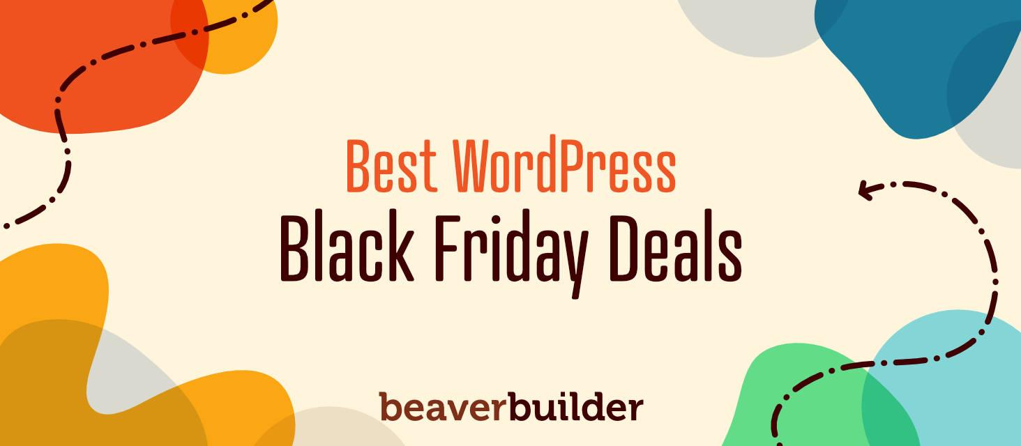 Best WordPress Black Friday Deals