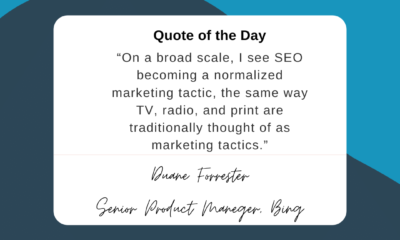 Don't discount the importance of search engine optimization just because it's a relatively new tactic....