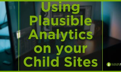Using Plausible Analytics on your Child Sites