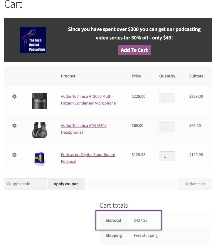 cart-page-with-upsell-on-total-cart-amount