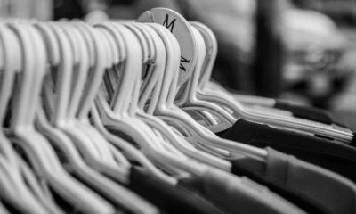 clothes on hangers size medium
