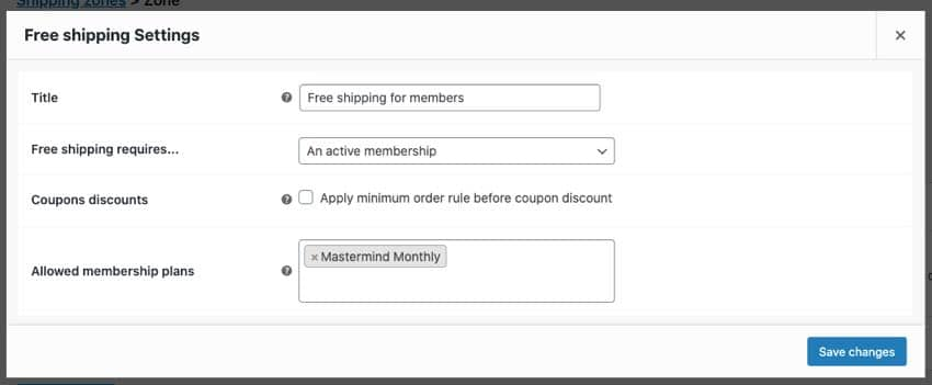free shipping for members only
