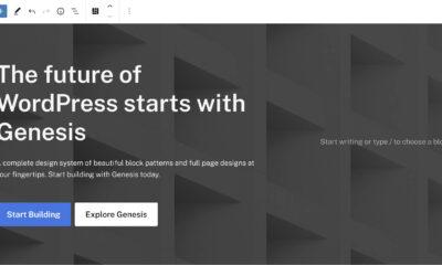 Genesis Block Theme Beta, StudioPress Pursuing a Block-First Future