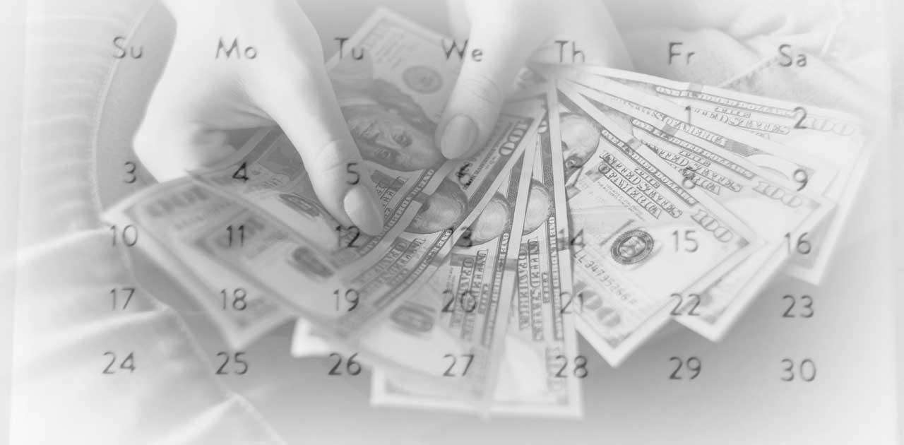 money-and-calendar