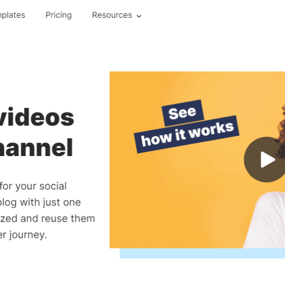 Top 5 Video Editing Tools Using Which You Can Create Great Video Content for Your Website, Social Media, or Newsletter