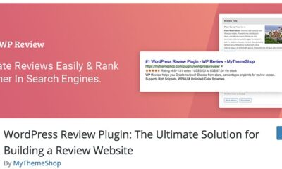 7 Best Free WordPress Review Plugins (Hand-Picked 2020)