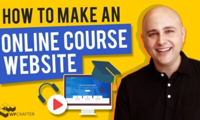 How To Make An Online Course Website With WordPress Using LearnDash 3 (Step By Step 2020)