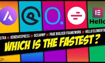 What Is The Fastest WordPress Theme? Astra / Hello / GeneratePress / OceanWP / PB Framework