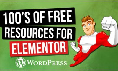 100's FREE Elementor Resources: Templates, Pop-Up Designs, Widgets & More