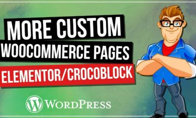 Custom Woocommerce Page Layout with Elementor & Crocoblock