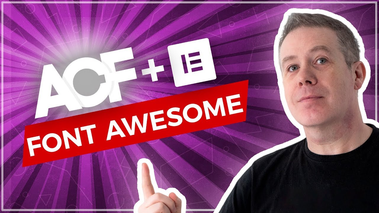 Advanced Custom Fields Tutorial - How To Add Font Awesome Icons!