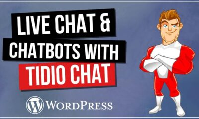Tidio Website Chatbot   Super Easy Live Chat & Chatbot