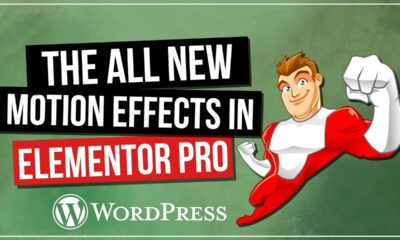 NEW in ELEMENTOR PRO: Motion Effects (Beta version)