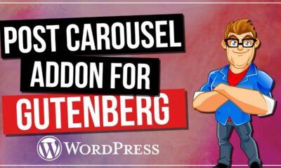 WordPress Carousel - Post Carousel for Gutenberg