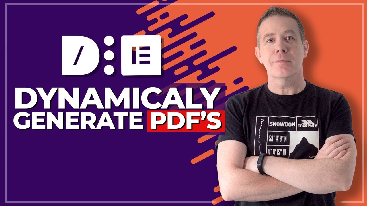 Generate Dynamic PDF's in WordPress | Dynamic Content for Elementor