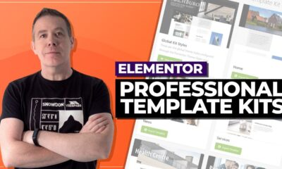 100s of Pro Elementor Templates with Envato Template Kits