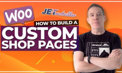 WooCommerce Elementor Shop Page Customisation with JetWooBuilder