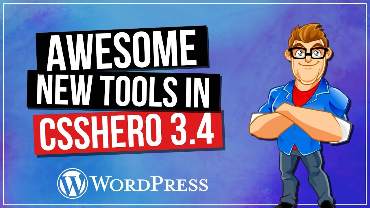 CSS Hero Tutorial - All New Tools in CSSHero 3.4