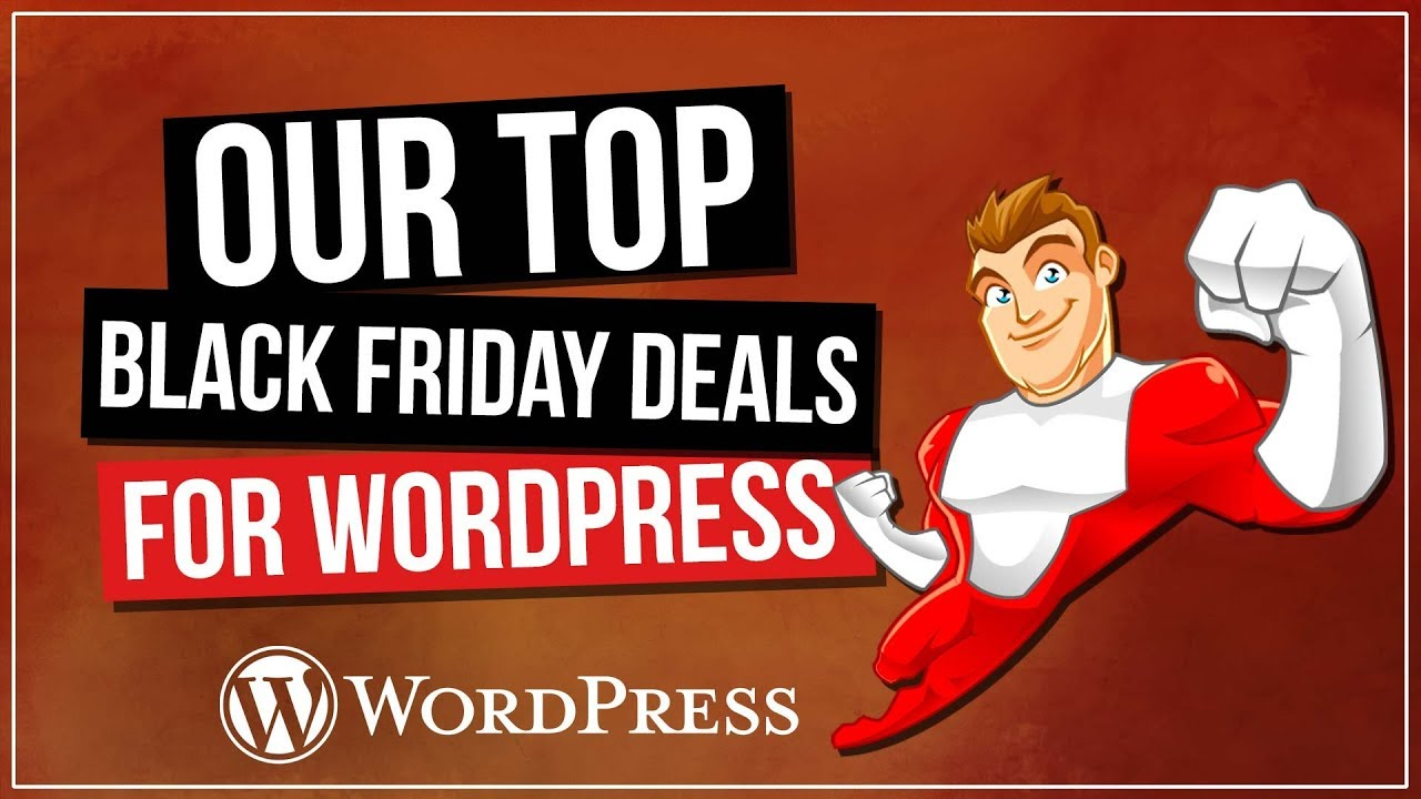 BLACK FRIDAY & CYBER MONDAY deals on our WordPress Tools of Choice!