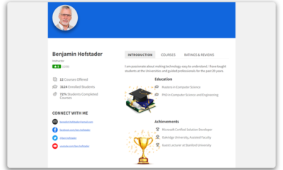 Instructor Role 3.5.0: You're going to love what's coming… Instructor Profile Pages!