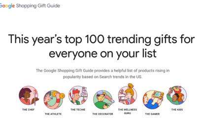 Google Data: Top Holiday Shopping Searches via @MattGSouthern