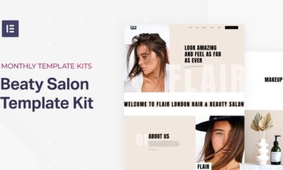 Monthly Template Kits #17: The Beauty Salon Template Kit