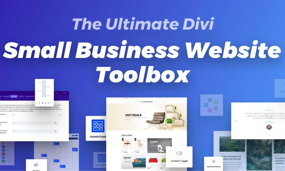 """How to Build the Ultimate """"Small Business Website Toolbox"""" from the Divi Marketplace"""