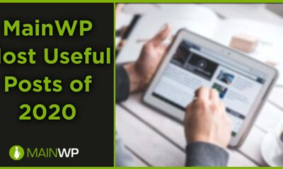 MainWP Most Useful Posts of 2020