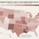 Mapped: The Risk of Eviction and Foreclosure in U.S. States