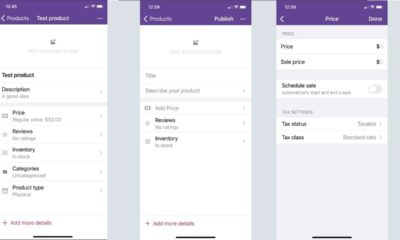 WooCommerce mobile app 5.5