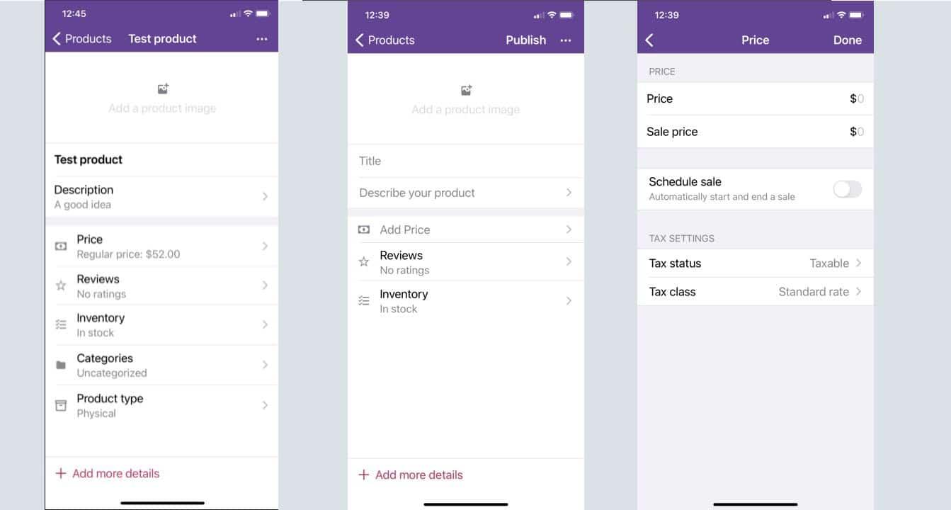 WooCommerce mobile app 5.5