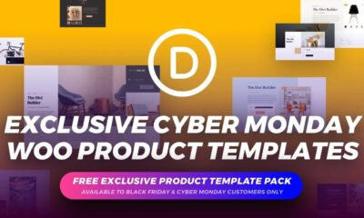 Get the Exclusive FREE Cyber Monday WooCommerce Product Page Layout Pack