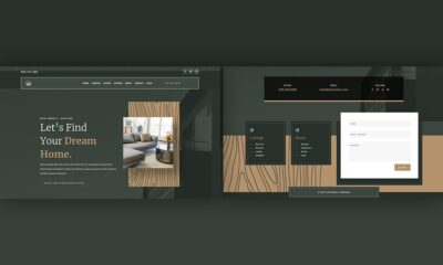 Download a FREE Header & Footer for Divi's Realtor Layout Pack