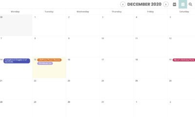 Record and Track Past Events With the LifePress Calendar Plugin