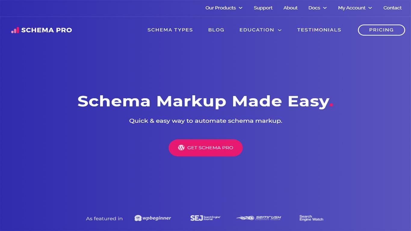 Schema Pro plugin image