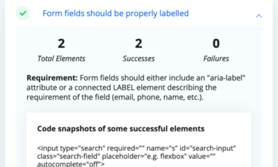 What's New in WCAG 2.1: Label in Name
