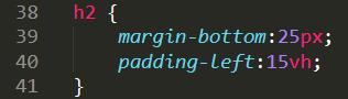 padding and margin