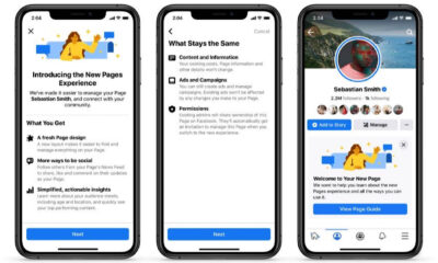Facebook Pages Redesigned, 5 New Features Added via @MattGSouthern